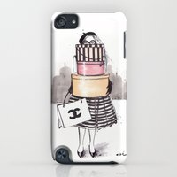 iPod Touch Cases featuring Shopping Junkie by anna hammer
