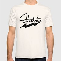 electric Mens Fitted Tee Natural SMALL