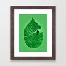 Loose Leaf Framed Art Print