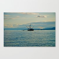 A Seiners Life  Canvas Print