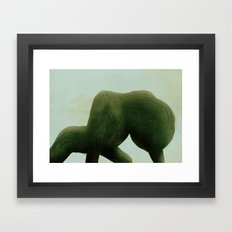 """皮毛""no.1 Framed Art Print"