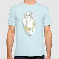 colour blind Mens Fitted Tee Light Blue SMALL