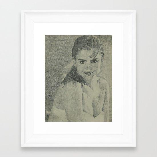 Kathy Ireland Framed Art Print