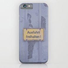 Ausfahrt Slim Case iPhone 6s