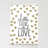 A Little Thing Called Love Stationery Cards