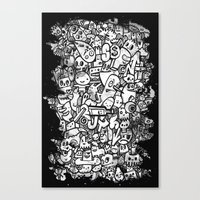 Misspent Youth Watercolo… Canvas Print