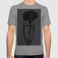 Liquid rose Mens Fitted Tee Athletic Grey SMALL