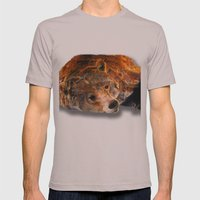 Lazy Bear Mens Fitted Tee Cinder SMALL