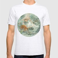 Little Mermaid Mens Fitted Tee Ash Grey SMALL