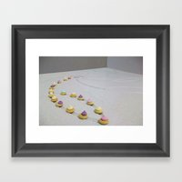 Shower Gems Framed Art Print