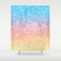 Bakana Rays Shower Curtain