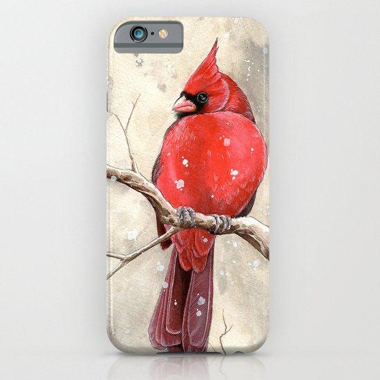 Northern Cardinal iPhone & iPod Case