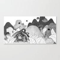 Life in the Onion Canvas Print