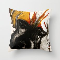 A Dog Called Flame Throw Pillow