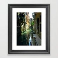 Venetian Framed Art Print