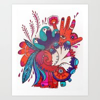 Shaman's Spiral Art Print