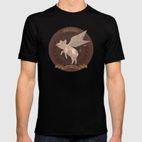 Pigasus Mens Fitted Tee Black SMALL