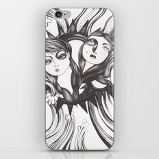 Caída al vacío iPhone & iPod Skin