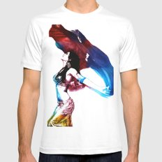 Rainbow Dancer Mens Fitted Tee SMALL White