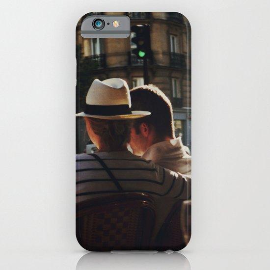 Lovers in Paris iPhone & iPod Case