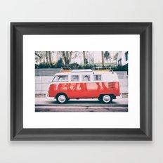 Combi car 4 Framed Art Print