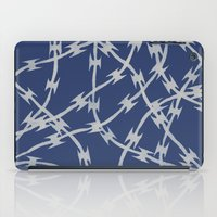 Trapped Navy iPad Case