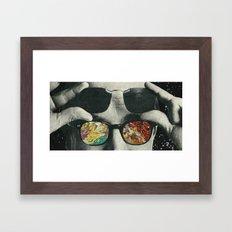 Space cakes Framed Art Print