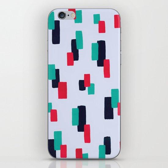 spring stripes iPhone & iPod Skin