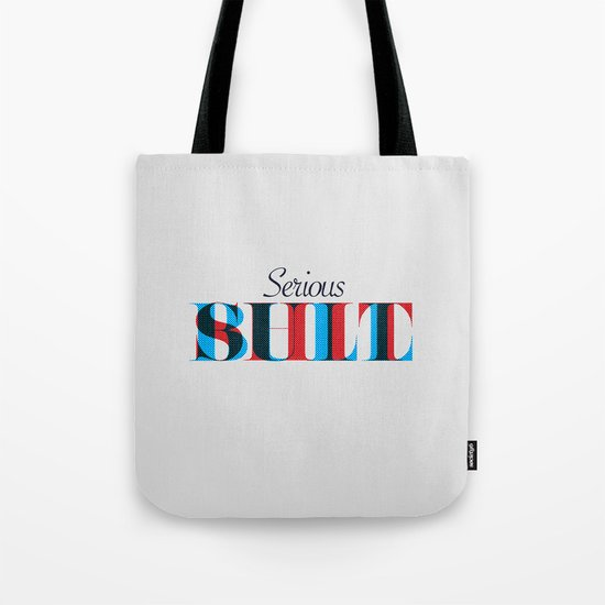 Serious Bullshit. Tote Bag