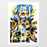Gum Drop Luv+ Art Print