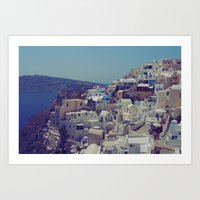 Oia, Santorini, Greece I… Art Print