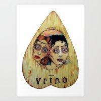 Ouija Board (local Band … Art Print