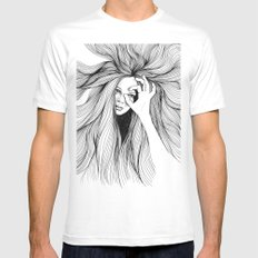 Leo White SMALL Mens Fitted Tee