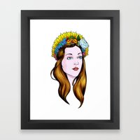 SAINT ANNE Framed Art Print