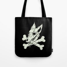 Dog & Crossbones Tote Bag