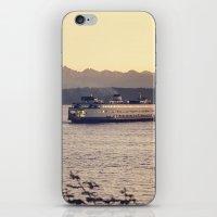 Puget Sound Ferry iPhone & iPod Skin