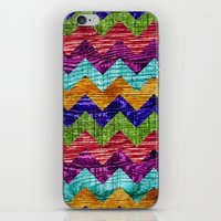 Natural Chevron Flow iPhone & iPod Skin