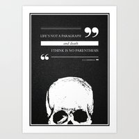 Parenthesis Art Print