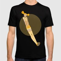 Giel Mens Fitted Tee Black SMALL