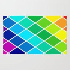Tetrahedral Rainbow Rug