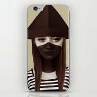 iPhone & iPod Skin featuring Ceci N'est Pas Un Chapea… by Ruben Ireland