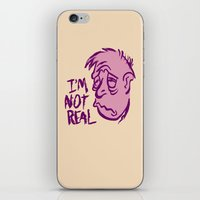 POOR CARTOON MAN iPhone & iPod Skin