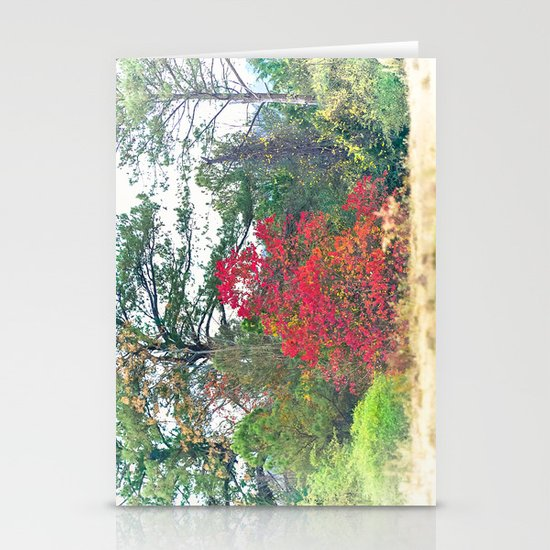 Touch of Red Stationery Card