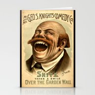 Vintage Comedy Poster Pu… Stationery Cards