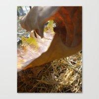 Autumn Wave Canvas Print