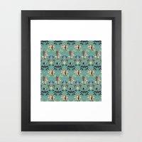 The Swan Framed Art Print