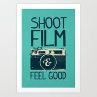 Art Print featuring Shoot Film by Victor Vercesi