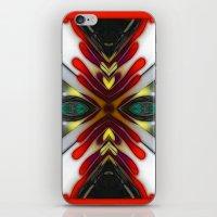 Flames iPhone & iPod Skin