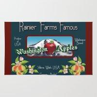 Washington Apples Rug