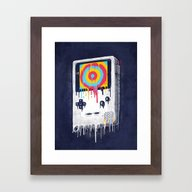 Framed Art Print featuring Gaming by Ronan Lynam
